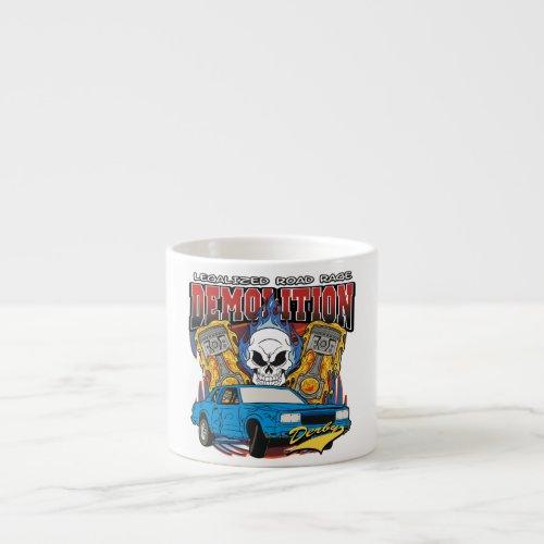 Demolition Derby Espresso Cup