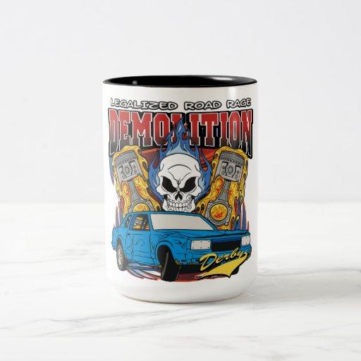 Demolition Derby Coffee Mug