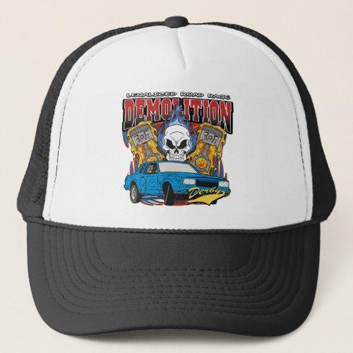 Demolition Derby Trucker Hat