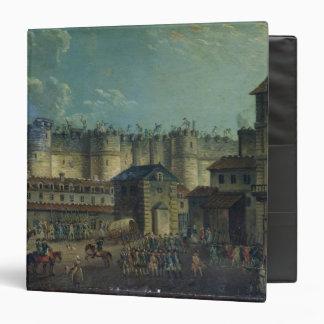 Demolition of the Bastille in 1789 Binder