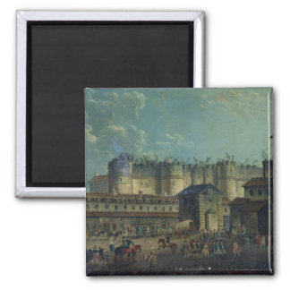 Demolition of the Bastille in 1789 Magnet