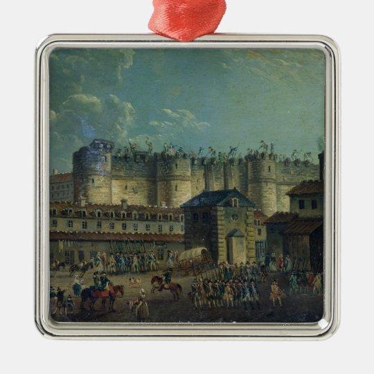 Demolition of the Bastille in 1789 Metal Ornament