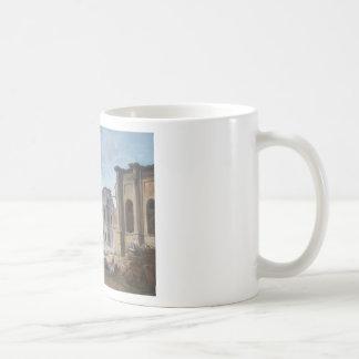 Demolition of the Château of Meudon Hubert Robert Coffee Mug