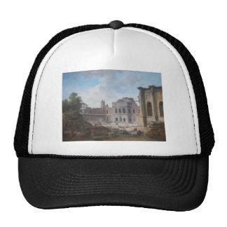 Demolition of the Château of Meudon Hubert Robert Trucker Hat