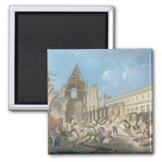 Demolition of the Couvent des Cordeliers, c.1802 Magnet