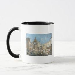 Demolition of the Couvent des Cordeliers, c.1802 Mug
