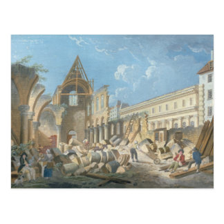 Demolition of the Couvent des Cordeliers, c.1802 Postcard