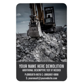 Demolition Rubble and Equipment Magnet