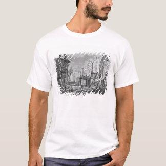 Demolitions for the building of Rue des Ecoles T-Shirt
