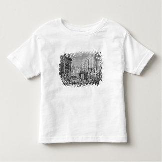 Demolitions for the building of Rue des Ecoles Toddler T-shirt