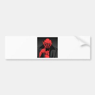 demon-16104 etiqueta de parachoque