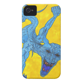 demon art iPhone 4 case