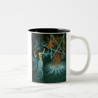 Demon Binder Two-Tone Coffee Mug