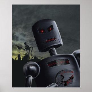 Demon Bots Print