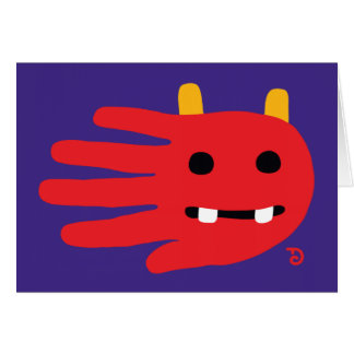 Demon card