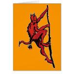 Demon Climber Card