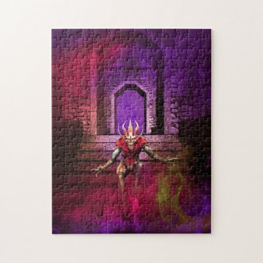 Demon Dance Jigsaw Puzzles