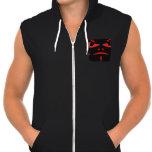 demon design activewear hoodies