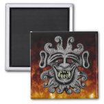 Demon Door Knocker Magnet