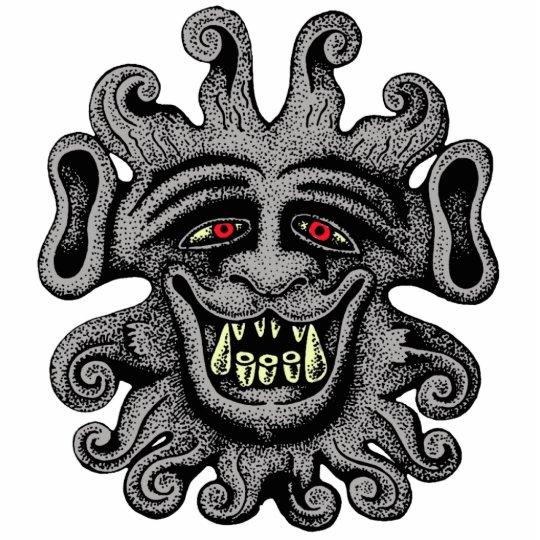 Demon Door Knocker Photo Sculpture