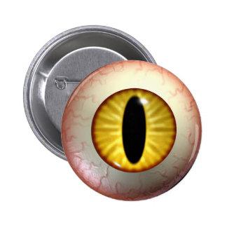 Demon-Eye-Ball Badge Button