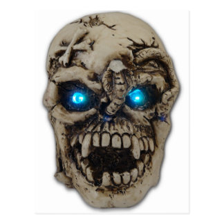 demon eyes postcard