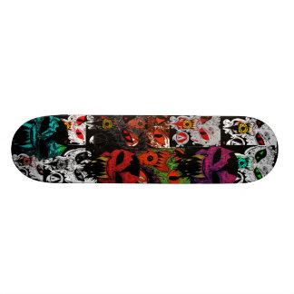 Demon Faces Skate Deck