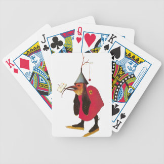 Demon from Garden of Earthly Delights. Hieronymous Bicycle Playing Cards