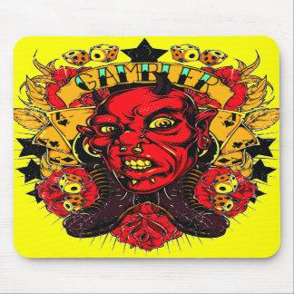 Demon Gambler Mouse Pads