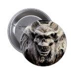 Demon Gargoyle Button