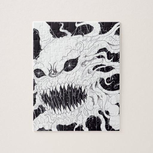 Demon Ghost Art Puzzles