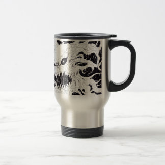 Demon Ghost Art Travel Mug
