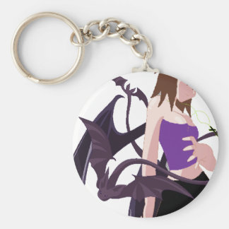 Demon Girl Keychains