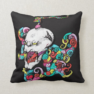 Demon Heart Skull Cushion/Pillow Throw Pillow