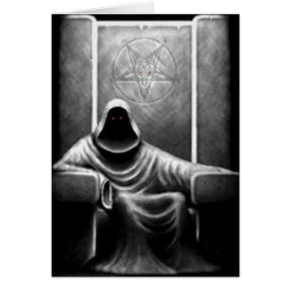 Demon Hunter Greeting Cards