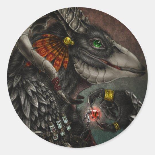Demon hunting classic round sticker