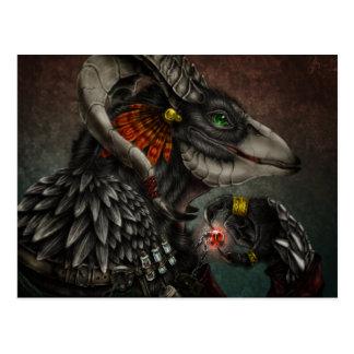 Demon hunting postcard