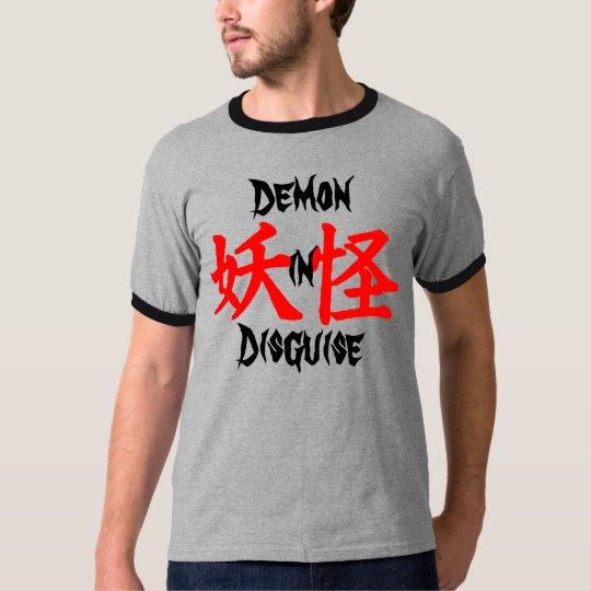 Demon in Disguise Yokai Kanji T-Shirt