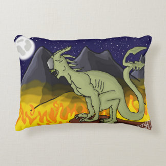 Demon in the Night Pillow Accent Pillow