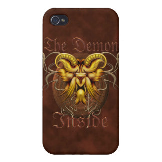 Demon Inside Cases For iPhone 4