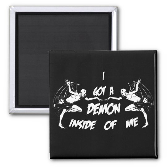 Demon Inside II Magnet