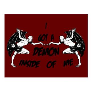 Demon Inside II Postcard
