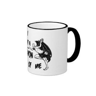 Demon Inside II Ringer Mug