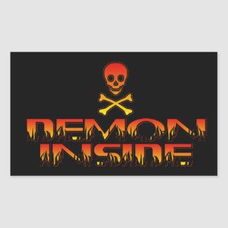 Demon Inside Sticker