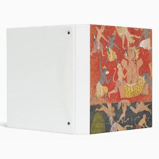 Demon Kumbhakarna Defeated by Rama and Lakshmana Binder