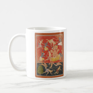 Demon Kumbhakarna Defeated by Rama and Lakshmana Coffee Mug