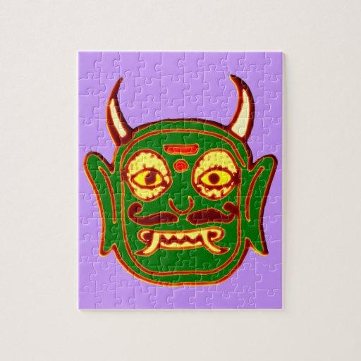Demon mask demon MASKs Puzzles