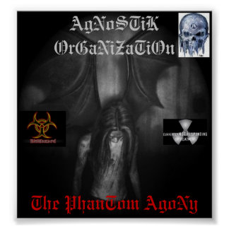 demon, me, AO5, AO6, AgNoSTiK OrGaNiZaTiOn, The... Poster