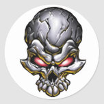 Demon of Night Round Sticker