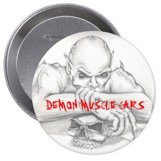 DEMON OPTION 1, DEMON MUSCLE CARS PIN